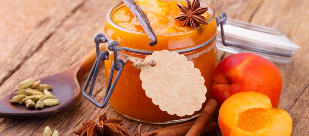 Aprikosenmarmelade mit duftenden Gewrzen